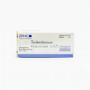 Buy Testosterone Enanthate Online 250mg 10ml Test E   Zphc