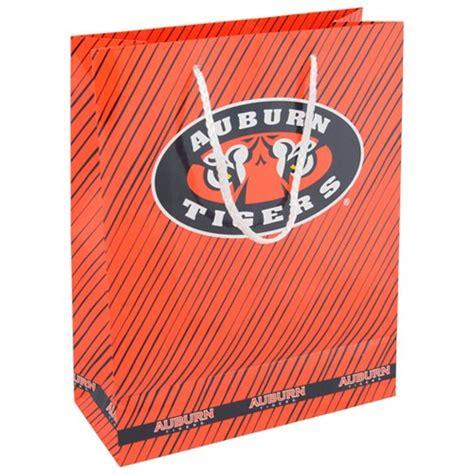 gifts for auburn fans auburn tigers team logo gift bag unique auburn stuff