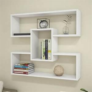 Mensola Libreria Da Parete Bianca Darcy 90 Cm Darcy  U00e8 Una