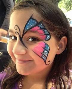 Modele Maquillage Carnaval Facile : 40 id es de maquillage papillon pour enfants et adultes a vos pinceaux maquillage carnaval ~ Melissatoandfro.com Idées de Décoration