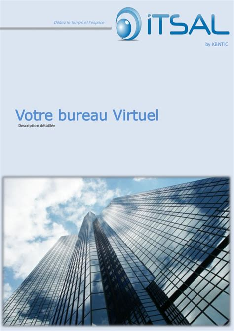e bureau virtuel presentation du bureau virtuel html5 itsal