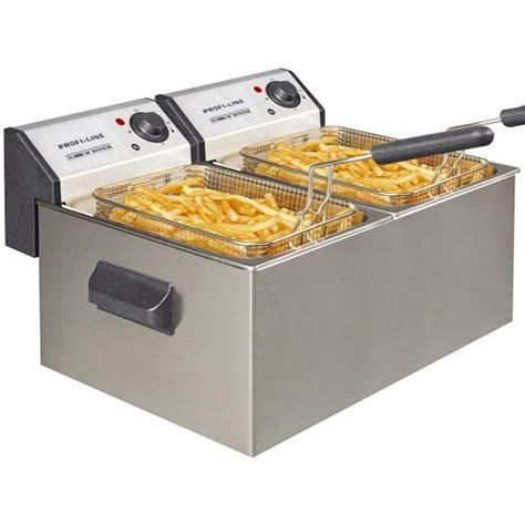 friteuse et cuisine friteuse electrique pro profiline