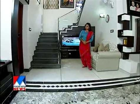 contemporary home  poonthoppu alappuzha manorama news