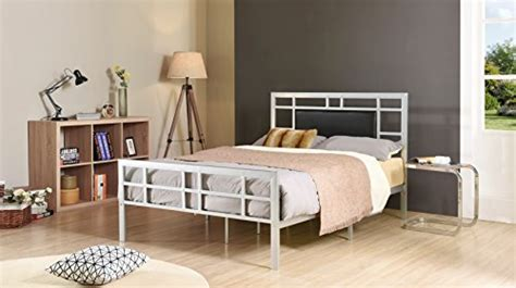 Hodedah Complete Metal Full-size Bed With Headboard