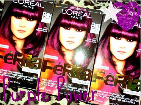 Feria Hair Color Violet