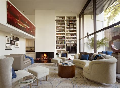 menlo park townhouse living room contemporary living