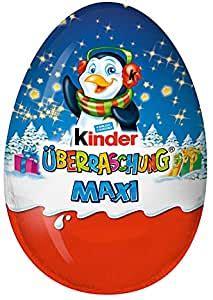 kinder maxi xxxl surprise eggs    grams total