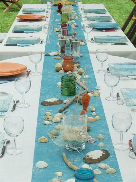 cuisine d馗o déco de table quot marine quot photo de décoration de table la cuisine d 39 angèle