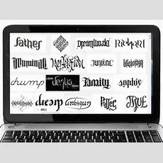 How To Make An Ambigram 9 Steps (with Pictures) Wikihow