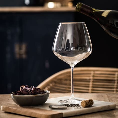 Bicchieri Maison Du Monde by Bicchiere In Vetro Bourgogne Maisons Du Monde