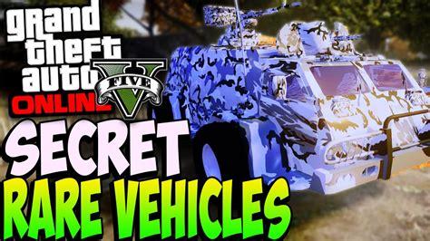 gta   secret rare cars  location  secret