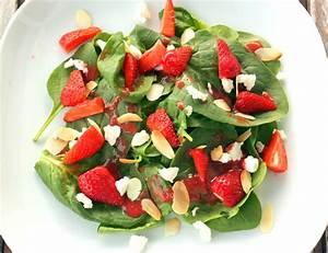 Salat Mit Spinat : erdbeer spinat salat mit ziegenk se flowers on my plate ~ Orissabook.com Haus und Dekorationen