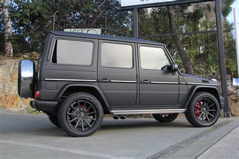 Matte Black Mercedes G Wagon  The Wagon