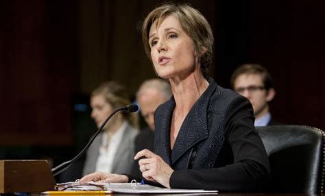 trump fires acting attorney general yates  betrayal