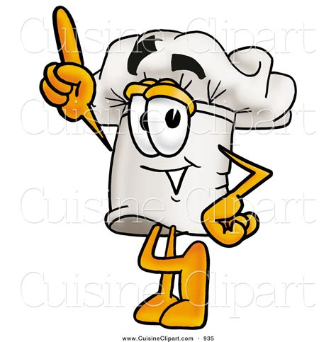 chapeau cuisine cuisine clipart of a cheerful chefs hat mascot