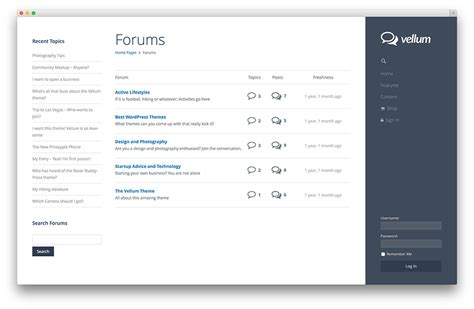Design Forum by 25 Best Bbpress Forum And Community Themes In