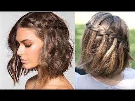 PEINADOS PARA CABELLO CORTO Easy Hairstyles for Short Hair