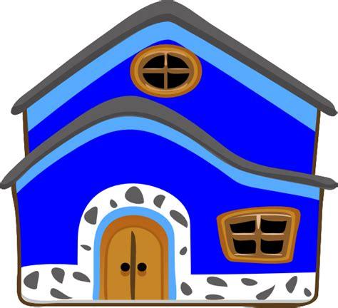casa clipart casa azul blue house clip at clker vector clip
