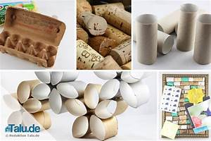 Upcycling Ideen Papier : recyclingbasteln upcycling ideen zum basteln mit m ll und abfall ~ Eleganceandgraceweddings.com Haus und Dekorationen