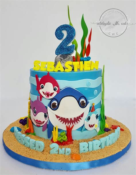 Pin by Chariehil Cpds on Birthday SHARK THEME   Pinterest   Baby shark, Shark and Birthdays