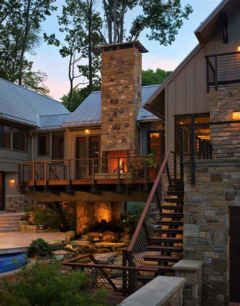 Bridge House Home Across A by Beautiful Bridge House Suspended Across A Ravine In Ohio