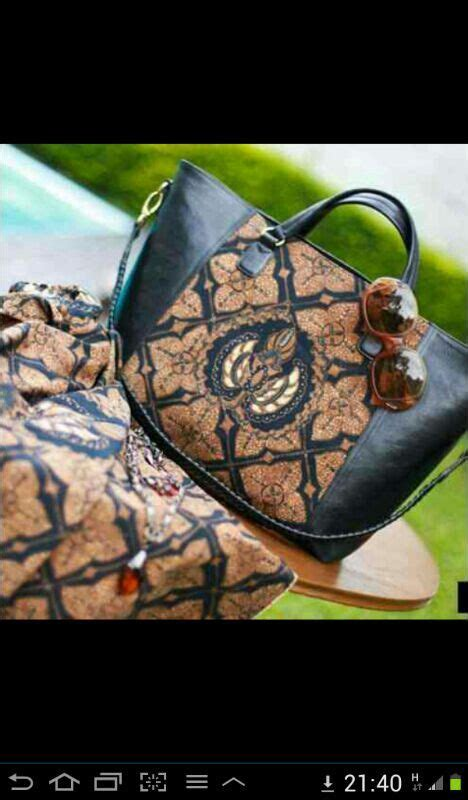 tas batik kombinasi kulit bag bag bag my bags ethnic bag and tote purse