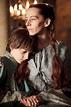 Kate Dickie as Lysa Tully Arryn and Lino Facioli as Robin ...
