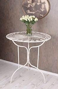 Gartentisch Metall Antik : gartentisch shabby chic metall ~ Watch28wear.com Haus und Dekorationen