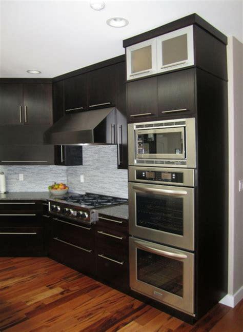 meuble cuisine pour four le meuble pour four encastrable dans la cuisine moderne