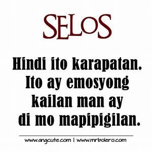 Selos tagalog Q... Banat Patama Quotes