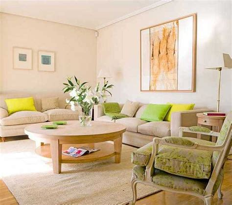 soft family room ideas with beige sofa and paint