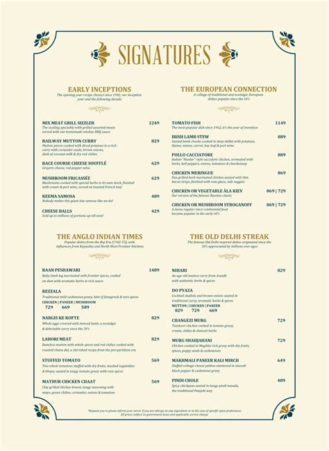 Coffee house menu design with top view coffee. Menu of United Coffee House | United Coffee House Menu, Connaught Place (CP), Central Delhi ...