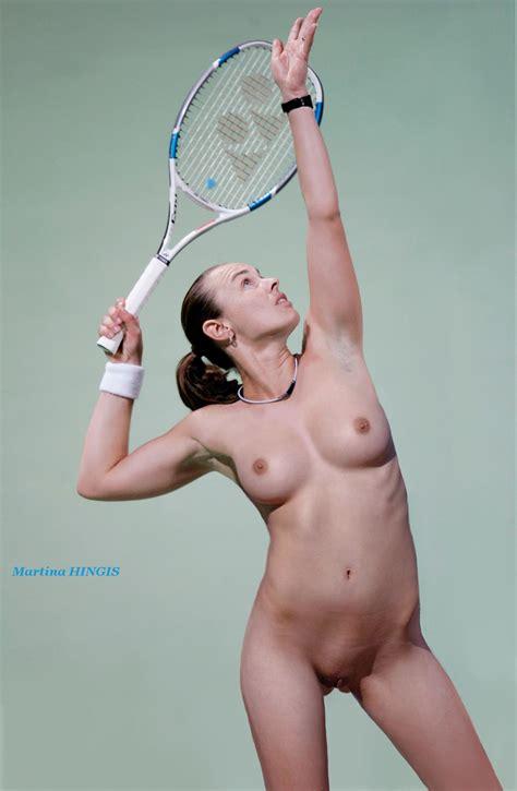 Hingis14 In Gallery Tennis Women Nude On Court Fake