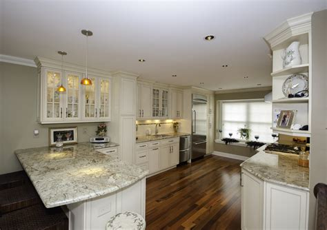 Galley Kitchen With Peninsula Neptune Nj By Design Line