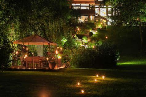 überdachung Im Garten by Illumination Licht Im Garten Zinsser Gartengestaltung