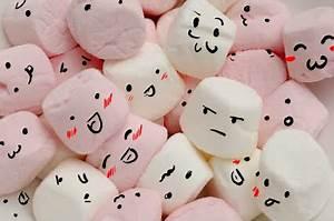 cute, faces, marshmallows, smile - image #177582 on Favim.com