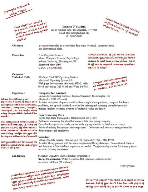 high school student resume exles work
