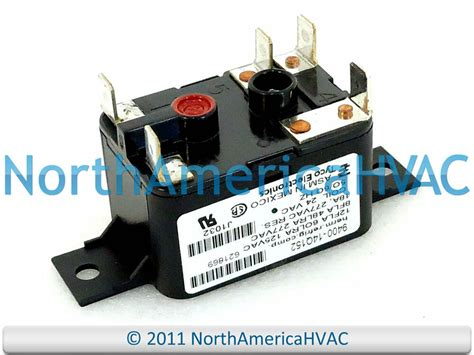 Electric Motor Relay by Tyco Electronics Furnace Blower Motor Relay 24 Volt 9400