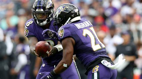 ravens highlights rb mark ingram td run  ravens lead