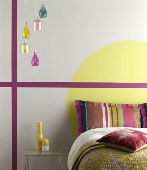 peinture murale chambre peinture murale couleur inspirations cool en 24 photos
