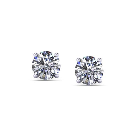 carat diamond stud earrings jewelry designs