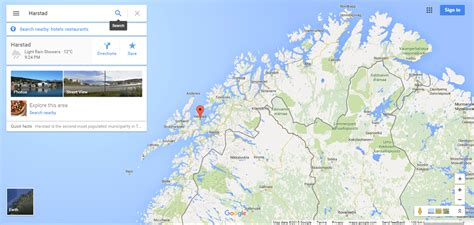 Town , troms co., nw norway, on hinnøya, the largest island of norway. 68.8° N in Harstad, Norway - Loyalty Traveler
