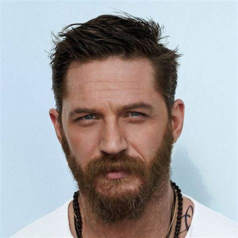 Tom Hardy Beard   Men's Hairstyles   Haircuts 2017