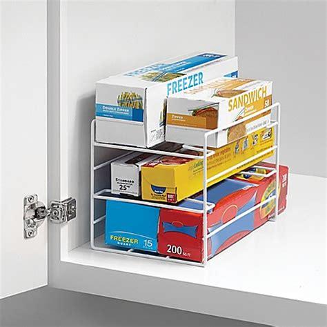 wrap organizer kitchen wrap organizer bed bath beyond 1188