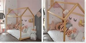 Cabane Chambre Fille : chambre enfant le lit cabane d coration cr ative ~ Teatrodelosmanantiales.com Idées de Décoration