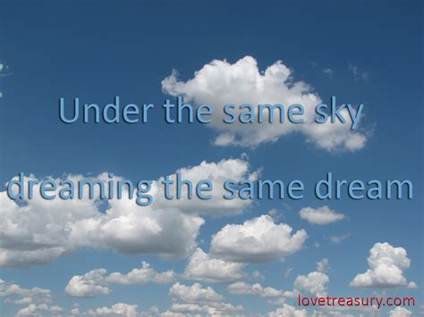 Quotes About The Sky The Same Sky Quotes Quotesgram