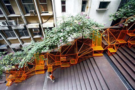 Design Cascade the cascade project transforms disused staircase into