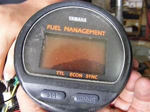 Yamaha Fuel Management Multi Function Digital Gauge 6y5