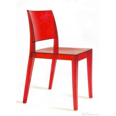 chaises rouges chaise design gyza et chaises design