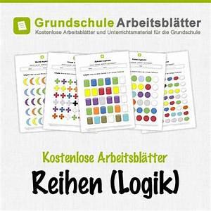 Logische Reihen Kindergarten Arbeitsblätter 2016 04 10 F R